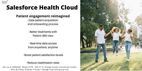 Salesforce health cloud- Six Consulting